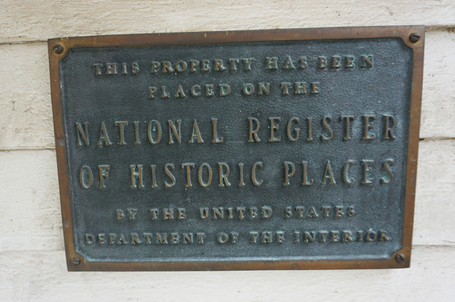 Jesse James house is on the national register of historic places