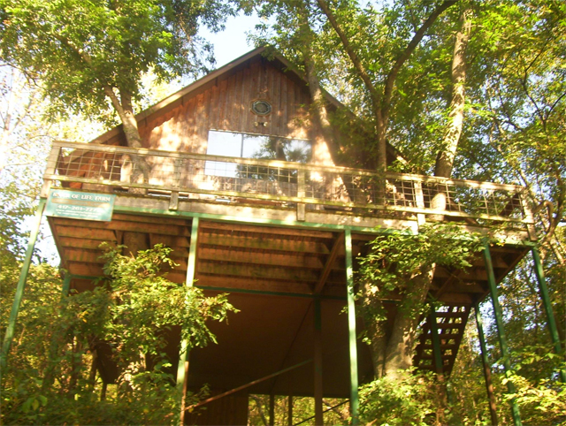 Tree House Cabins at River of Life Farm in Missouri