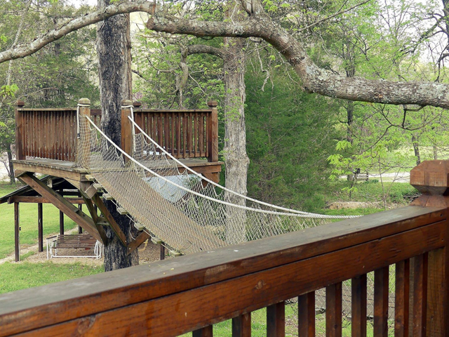 Almost Heaven Treehouse located in the Missouri Ozarks