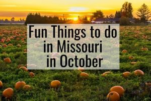 Things to do in Missouri in October