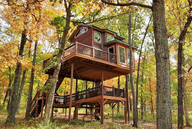 The Spring Lake Ranch Tree House