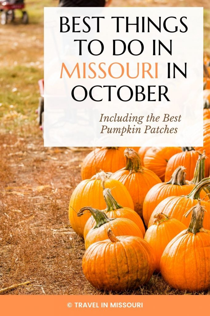 12 best festivals and events in Missouri in October. We've also included our favorite pumpkin patches, haunted hotels and haunted places in Missouri. The best list of things to do in Missouri in October!