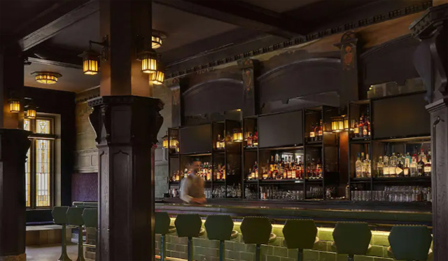 historic Savoy Hotel and Grill building has been transformed into 21c Kansas City.