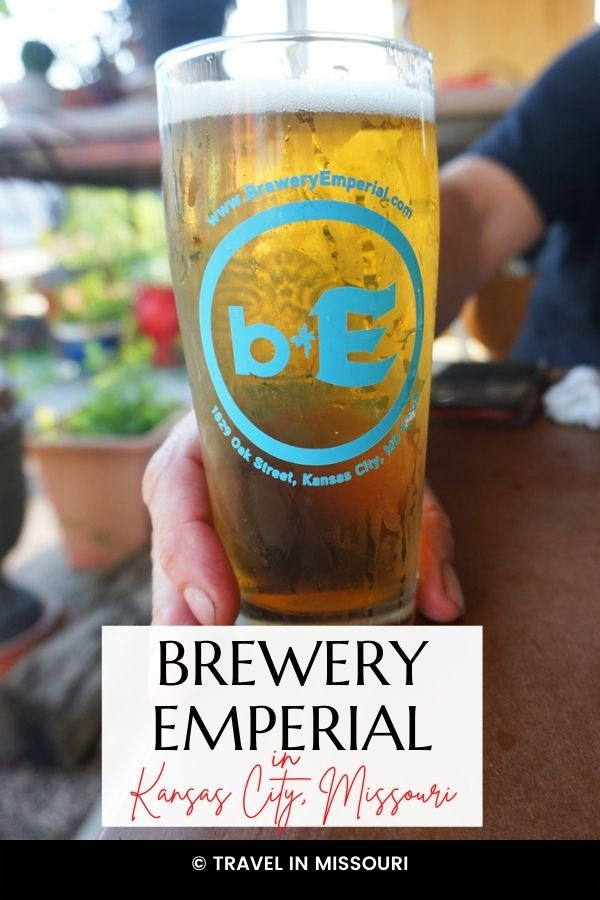 Brewery Emperial, in the Crossroads area of Kansas City, Missouri is a KCMO fav! Cool people, a great vibe, & good times in the beer garden at Brewery Emperial.