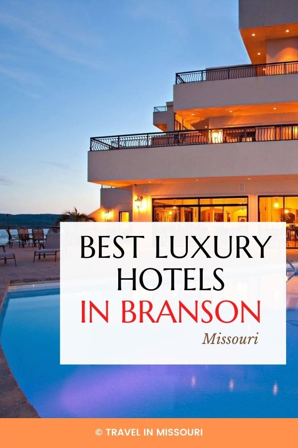 The ultimate list of luxury lodges, resorts, hotels and B&B's in Branson, Missouri.