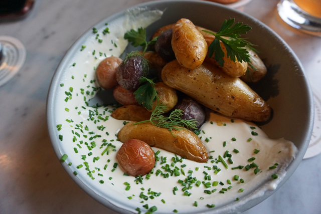 Salted Potatoes at J Rieger