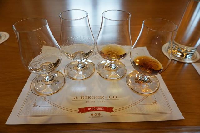 The J Rieger & Co. tasting