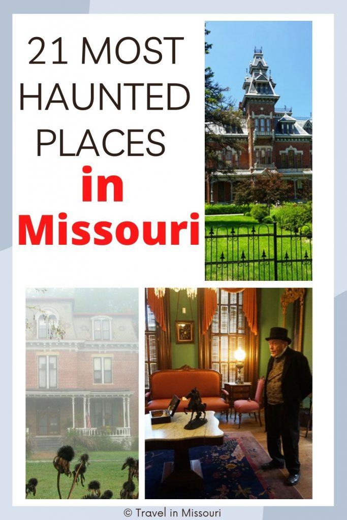 Missouri has an enormous amount of paranormal activity and ghostly sightings. Find Ghosts Missouri style in haunted hotels, the oldest prison west of the Mississippi & more.