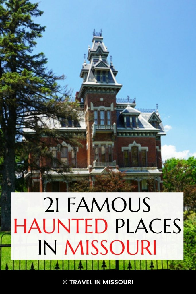 Ghosts Missouri. Missouri has an enormous amount of paranormal activity and ghostly sightings. Find Ghosts Missouri style in haunted hotels, the oldest prison west of the Mississippi & more.