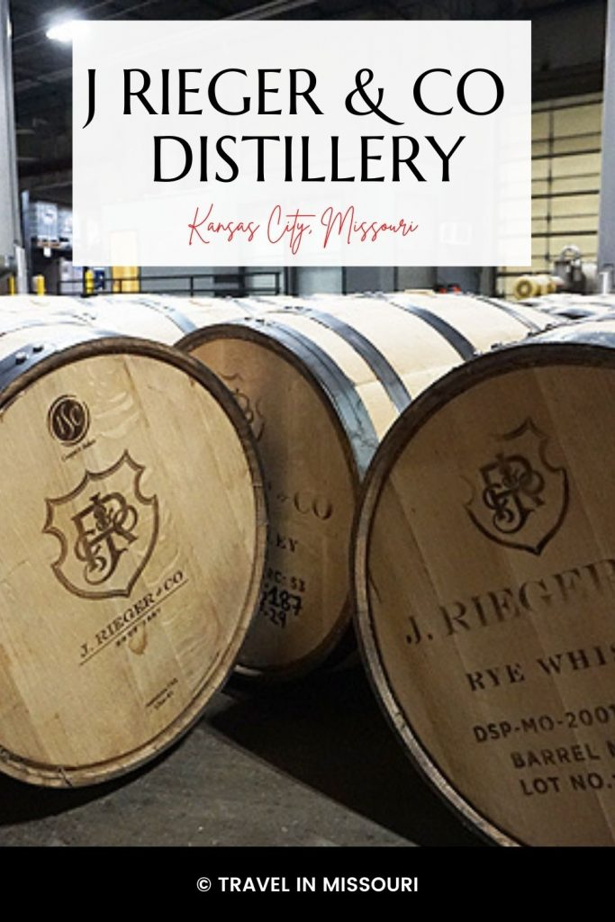 A visit to J Rieger distillery should include a tour and tasting, a visit to the museum, the Monogram Lounge for a cocktail and food and a ride down the slide!