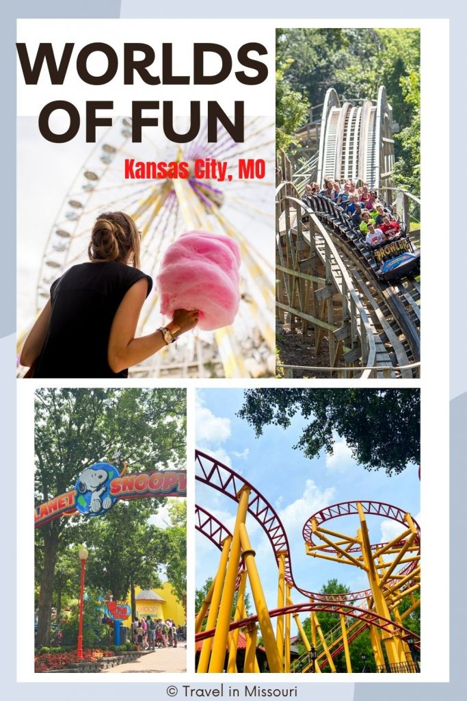 Love rollercoasters? If you want to spend a day at an amusement park, Kansas City's Worlds of Fun is a great option for residents in Missouri and Kansas.